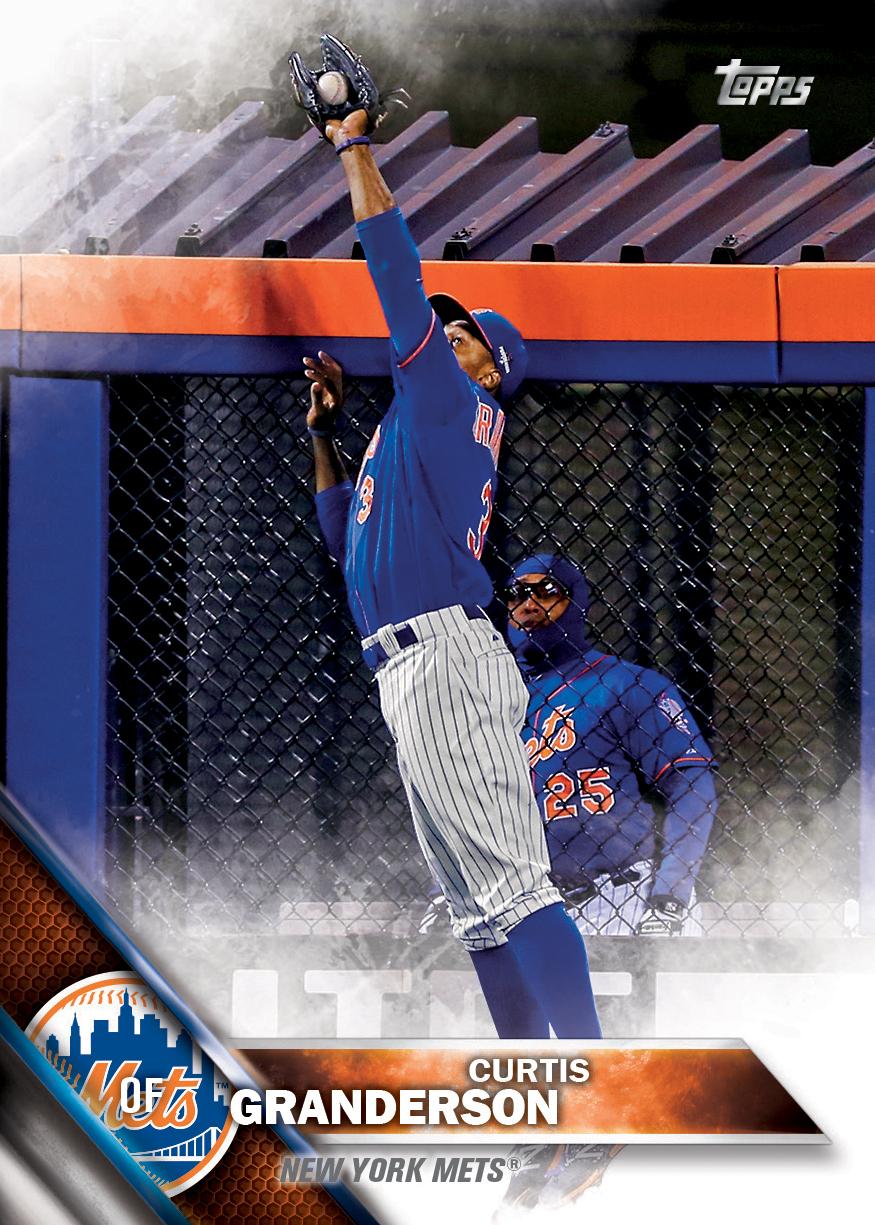 2016 Curtis Granderson Topps Baseball Card