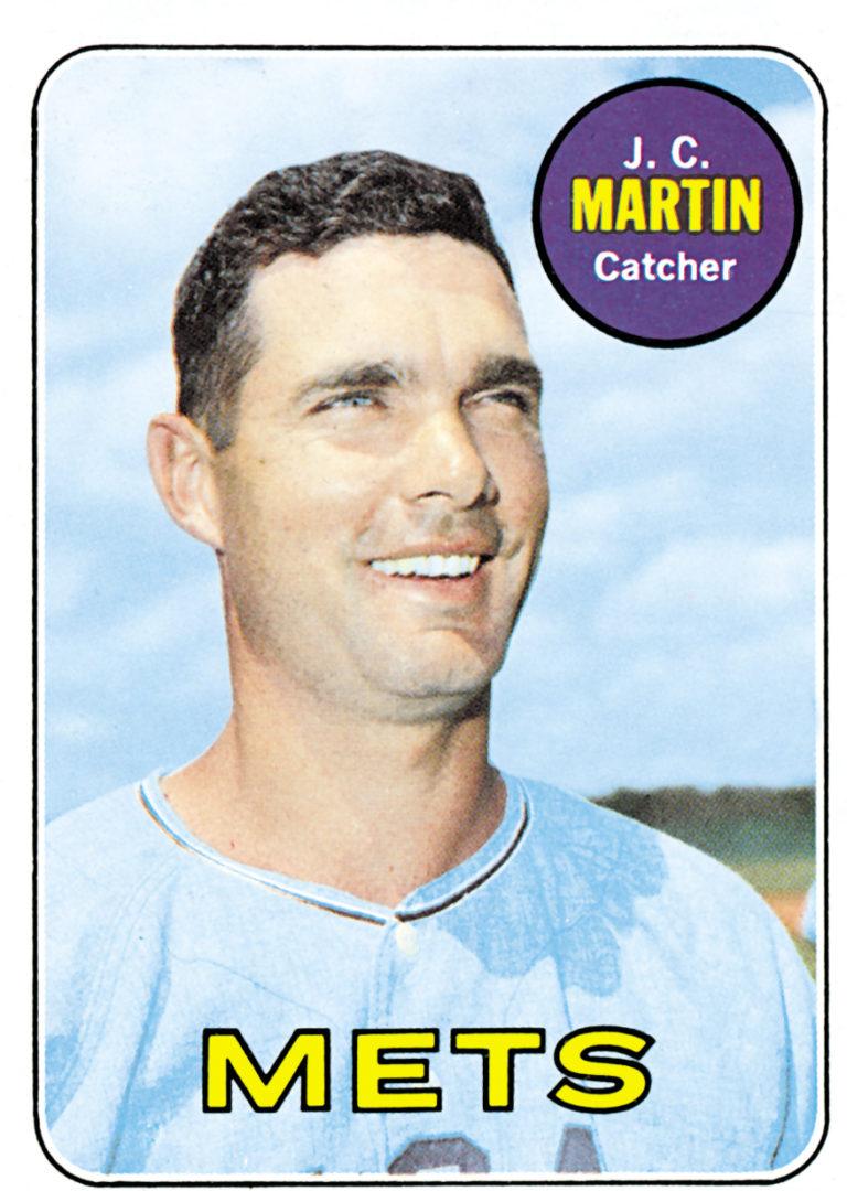 J.C. Martin 1969 Topps Baseball Card