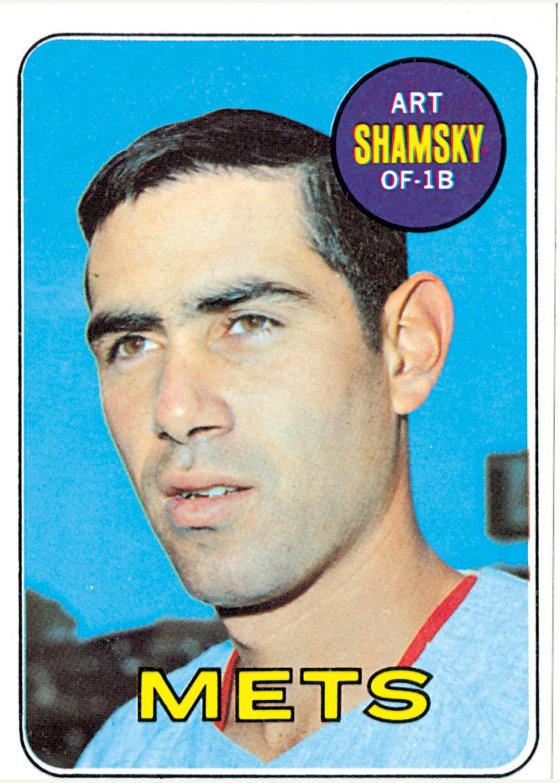 Art Shamsky Topps Baseball Card