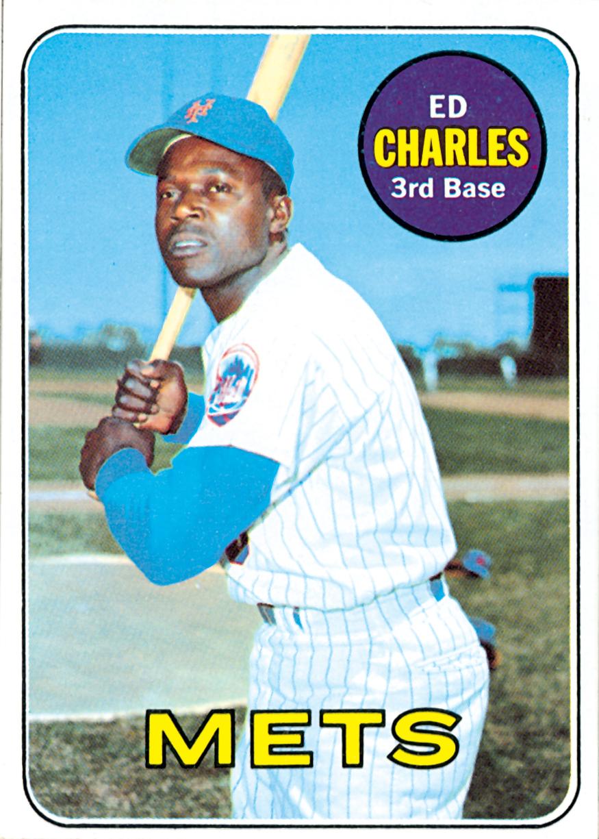 1969 Ed Charles Topps Baseball Card