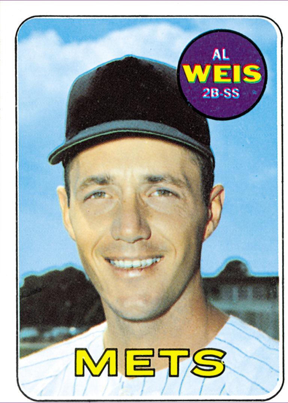 1969 Al Weis Topps Baseball Card