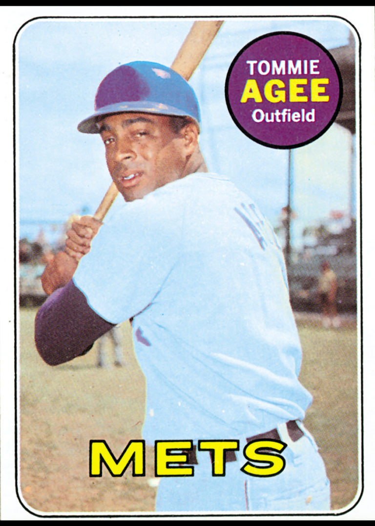 Tommie Agee 1969 Topps Baseball Card