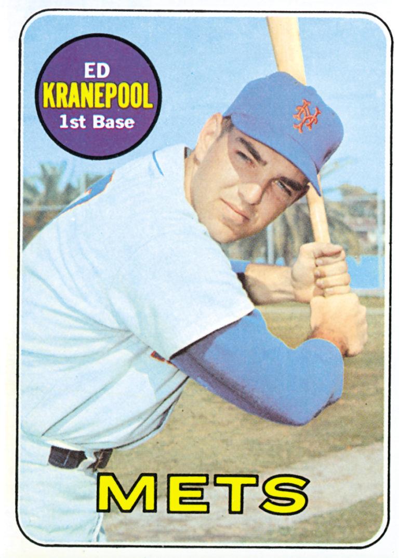 Ed Kranepool 1969 Topps Baseball Card