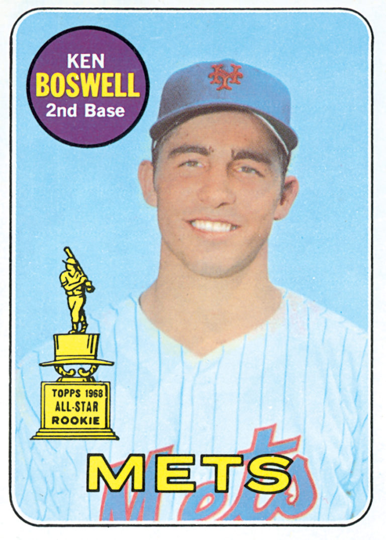 Ken Boswell 1969 Topps All-Star Rookie Card