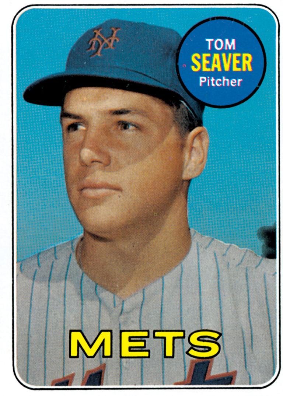 Tom Seaver 1969 Topps Baseball Card
