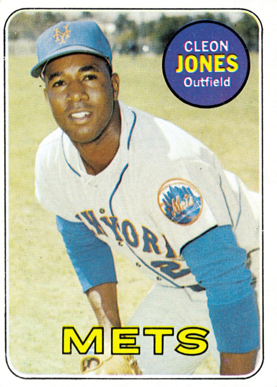 1969 Cleon Jones Topps Baseball Card