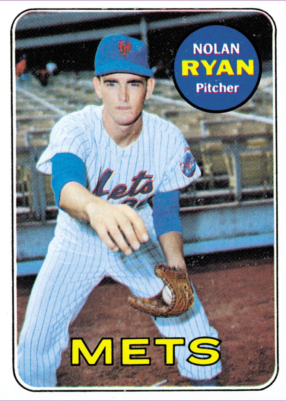 Nolan Ryan 1969 Topps Baseball Card