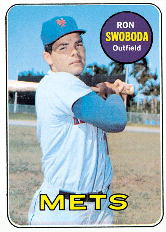 Ron Swoboda 1969 Topps Baseball Card