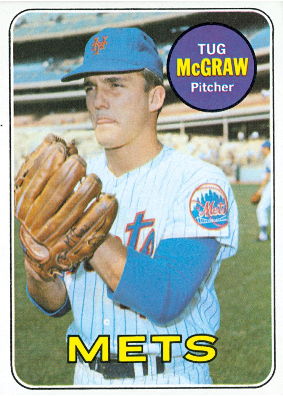 Tug McGraw 1969 Topps Baseball Card