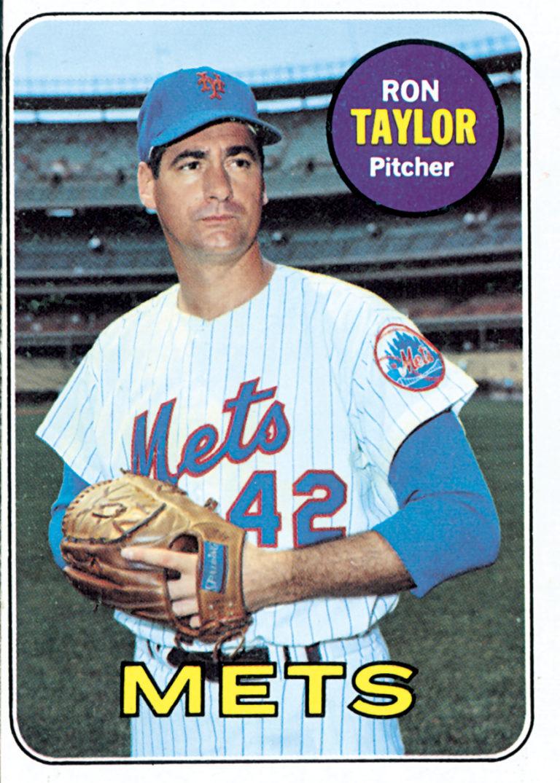 Ron Taylor 1969 Topps Baseball Card