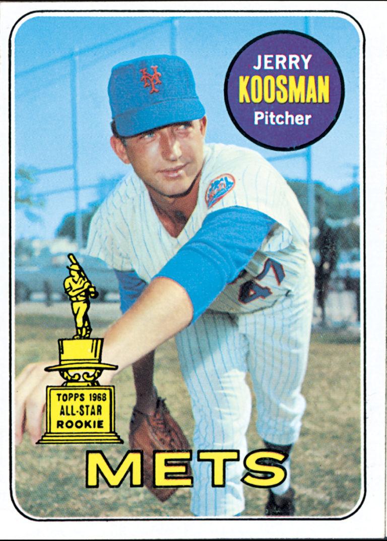 Jerry Koosman 1969 Topps All-Star Rookie Card