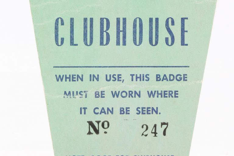 1969 World Series Clubhouse Pass