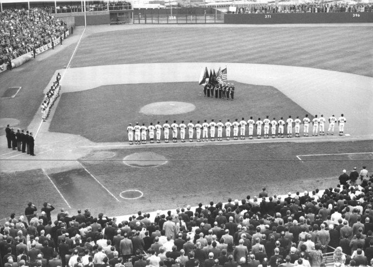 Pregame Ceremonies in 1969 World Series