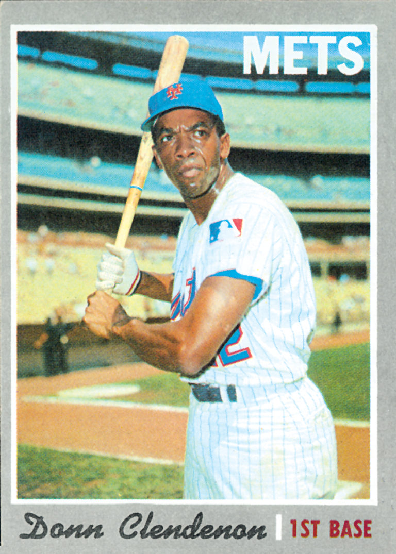 Donn Clendenon 1970 Topps Baseball Card