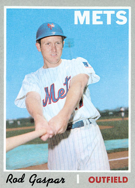Rod Gaspar 1970 Topps Baseball Card