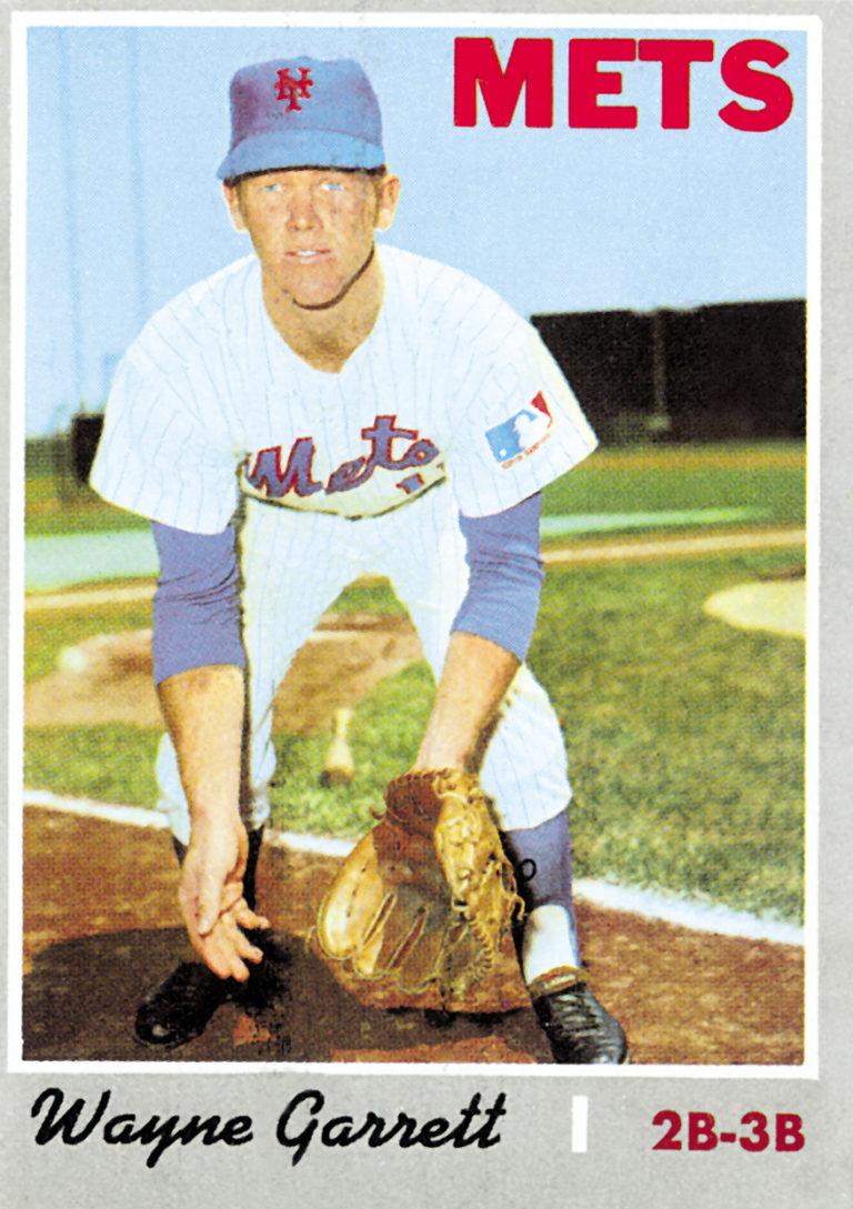Wayne Garrett 1970 Topps Baseball Card