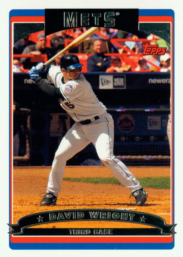 2006 David Wright Topps Baseball Card