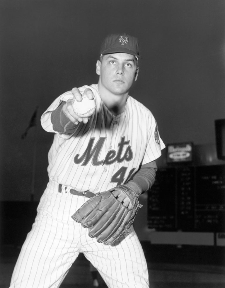 Tom Seaver Poses for the Camera During His Rookie Season