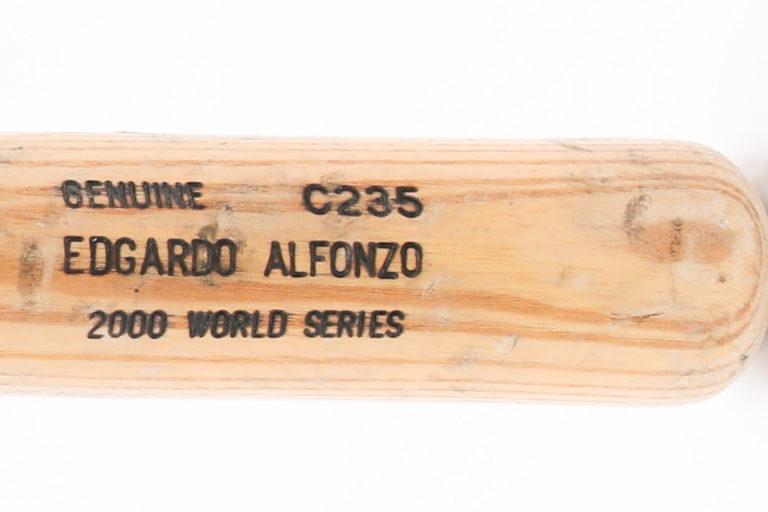 Edgardo Alfonzo's 2000 World Series Bat