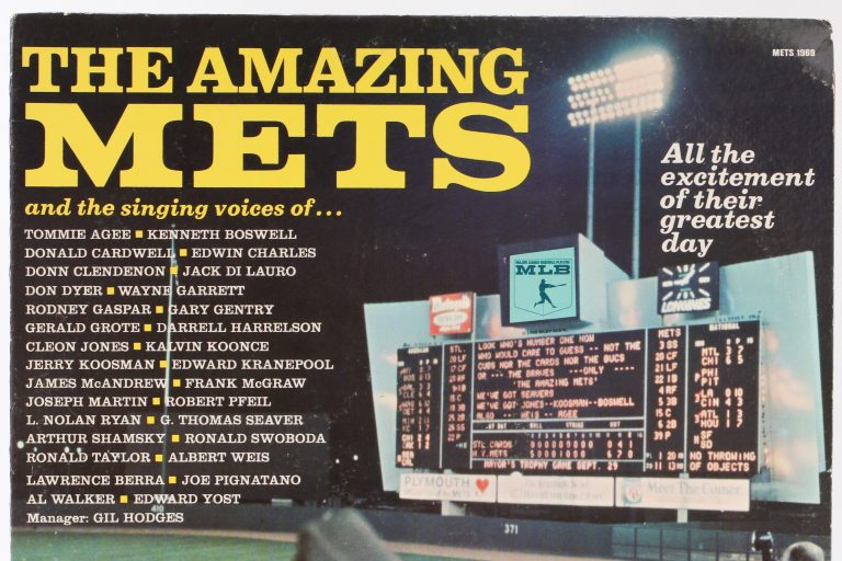 The Amazing Mets LP from 1969