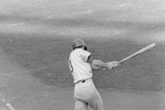 Bud Harrelson at the 1969 NLCS