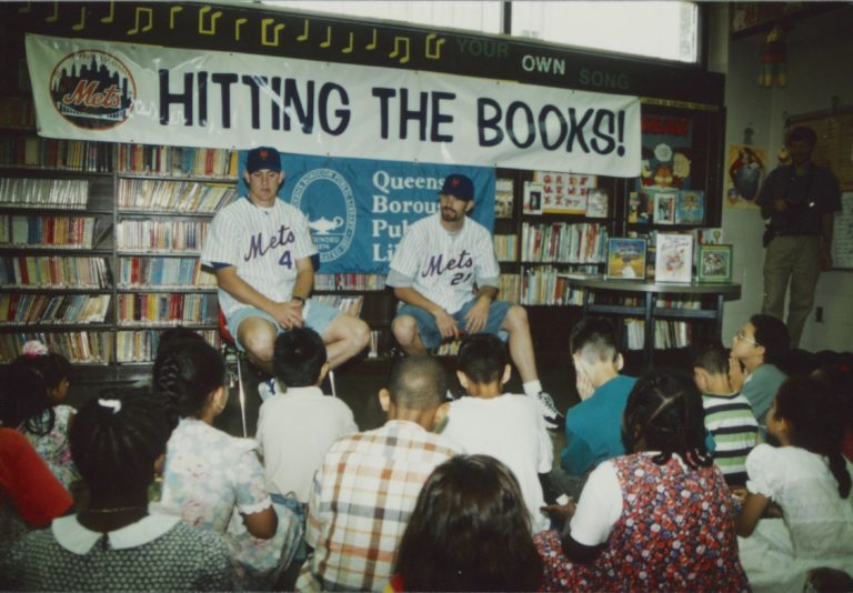 Isringhausen and Pulsipher at Literacy Event