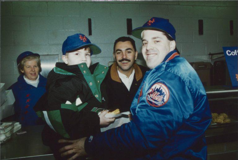 John Franco Greets Fans During 1996 Offseason