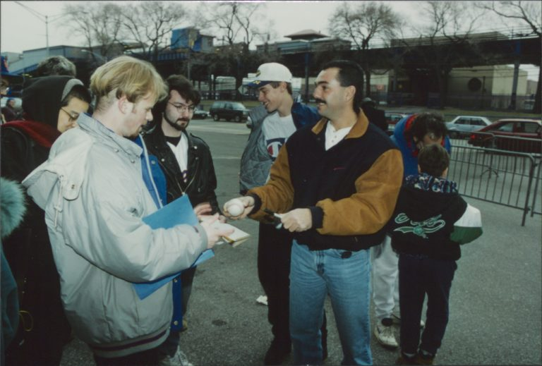 Photo of Meet and Greet with John Franco