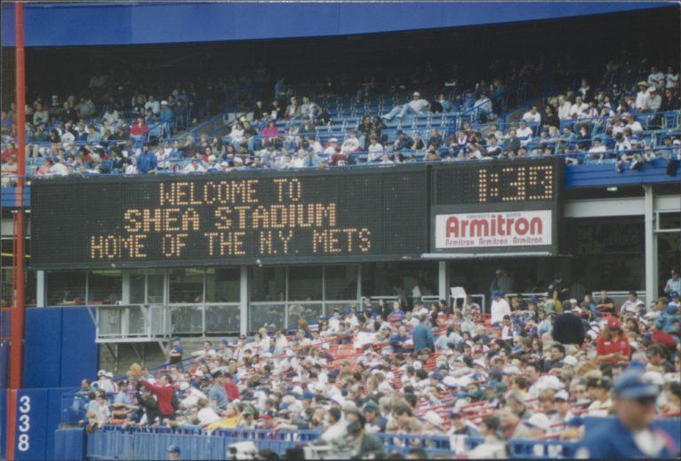 Shea Stadium Welcomes Mets Fans in 1997