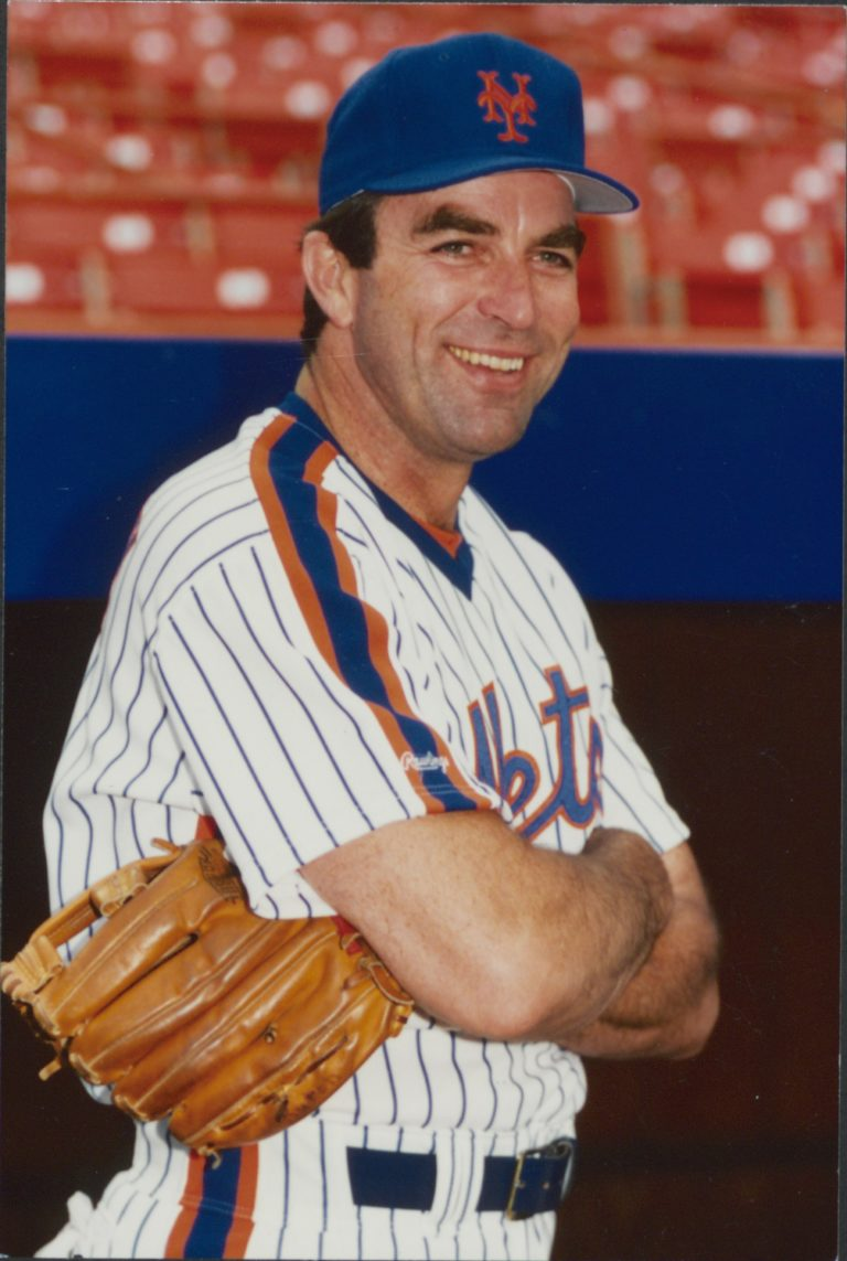 Tom Selleck Suits Up as a New York Met