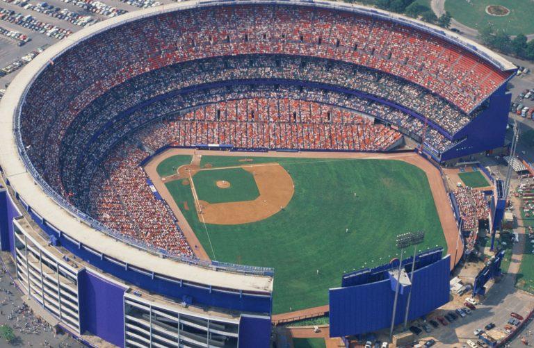 Aerial Photo of Shea Stadium