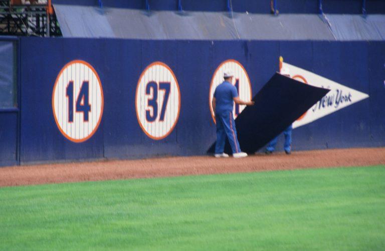 Unveiling of Retired 41 at Shea Stadium