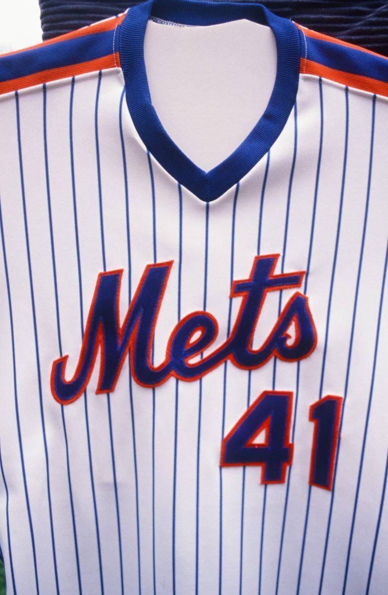 The Final No. 41 Mets Jersey