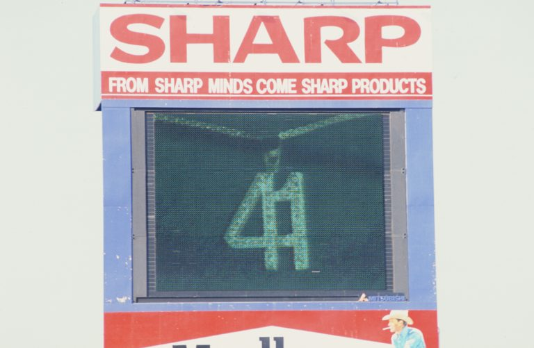 Shea Scoreboard Flashes 41 on Tom Seaver Day
