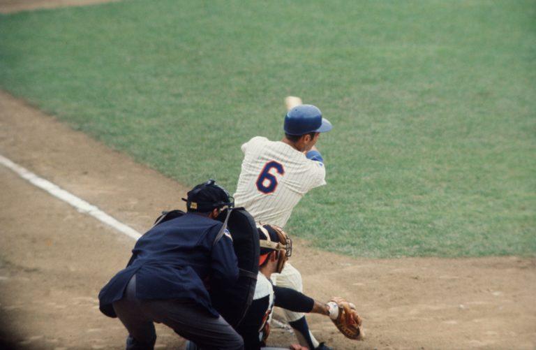 Al Weis Swings Bat in 1969