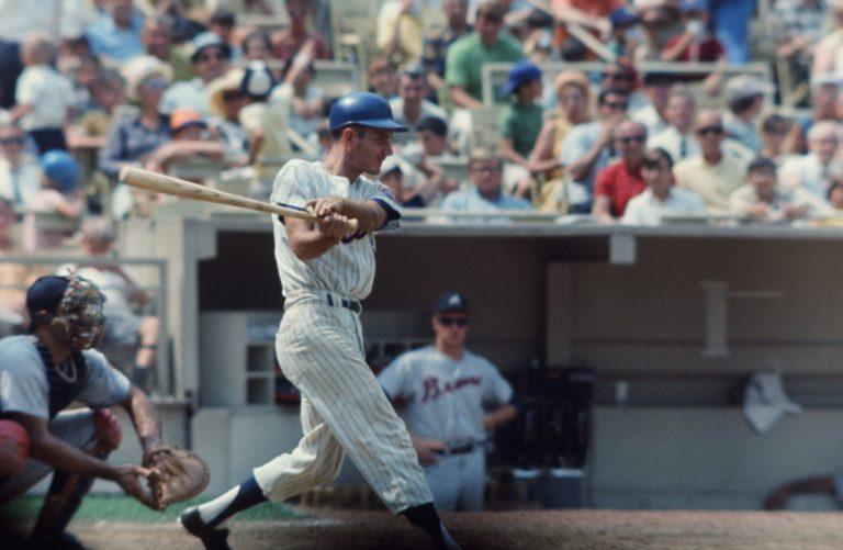 Al Weis Bats for the Mets in 1968