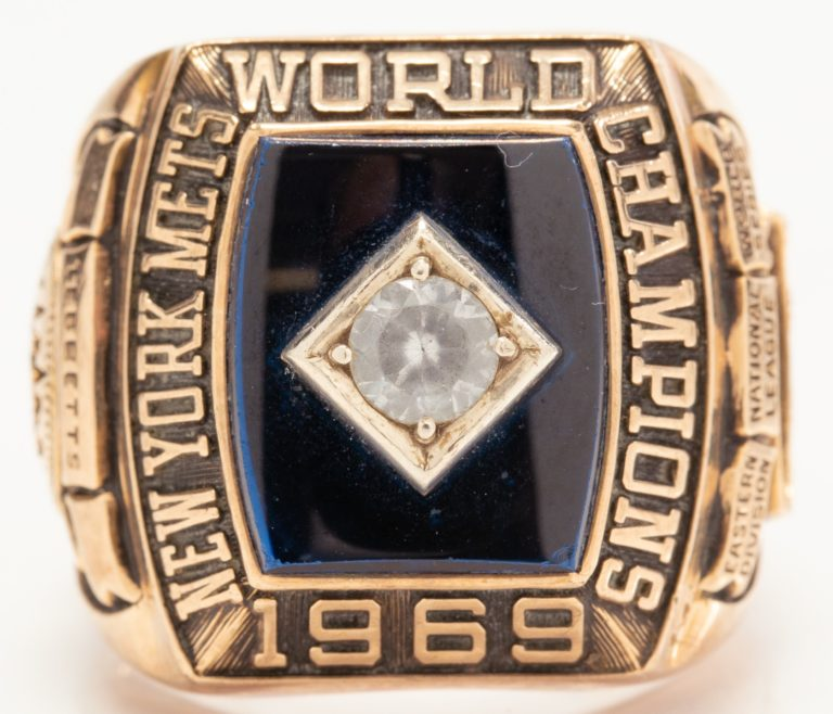 Birdie Tebbetts 1969 World Series Ring
