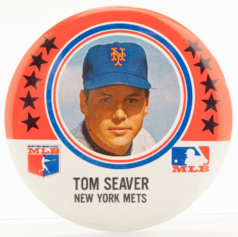 Tom Seaver Button