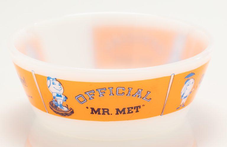 Mr. Met Cereal Bowl