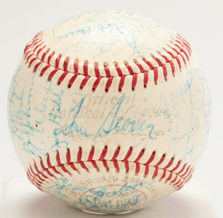 1969 Mets Autographed Baseball (Multiple Autographs)