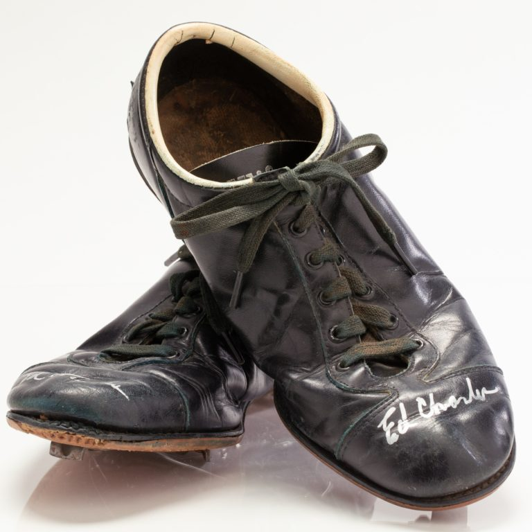 Autographed Ed Charles Game-Worn Cleats