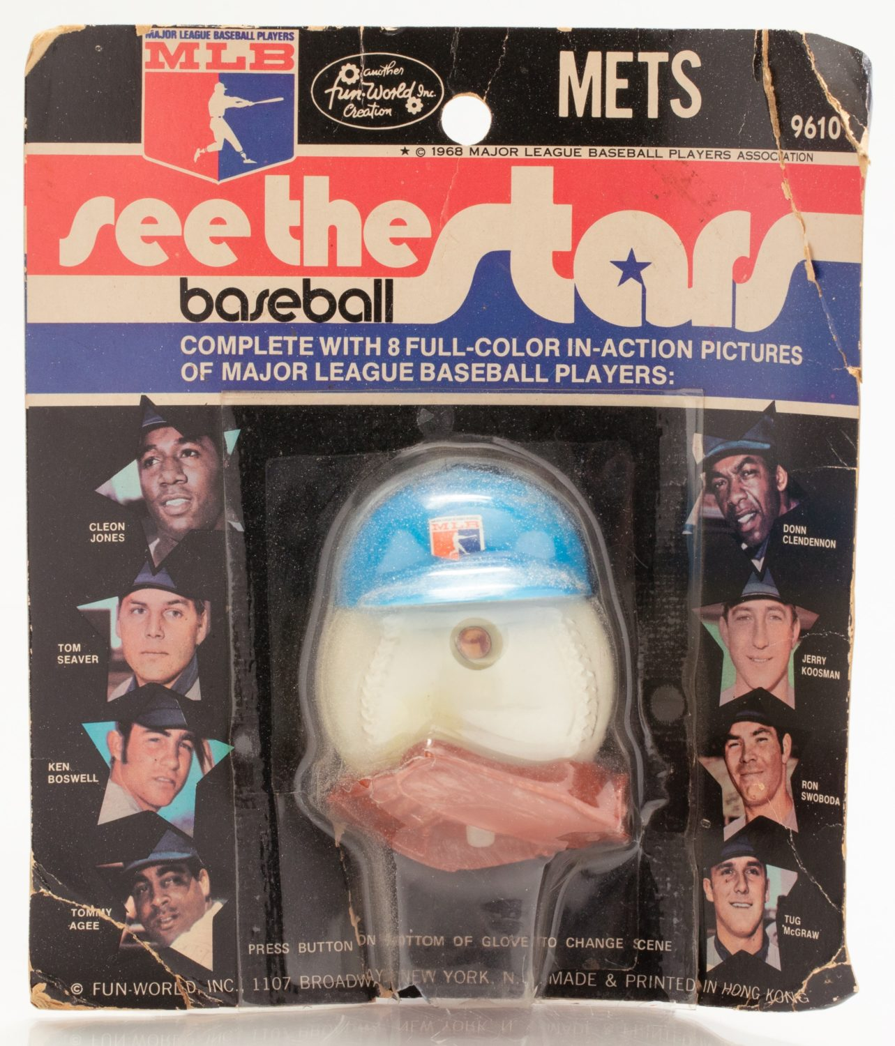 Fun World Toy with Player Action Photos in Its Packaging