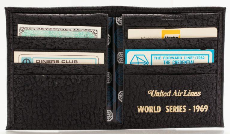 1969 World Series Wallet