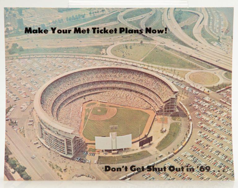 1969 Advertisement for Mets Ticket Plans