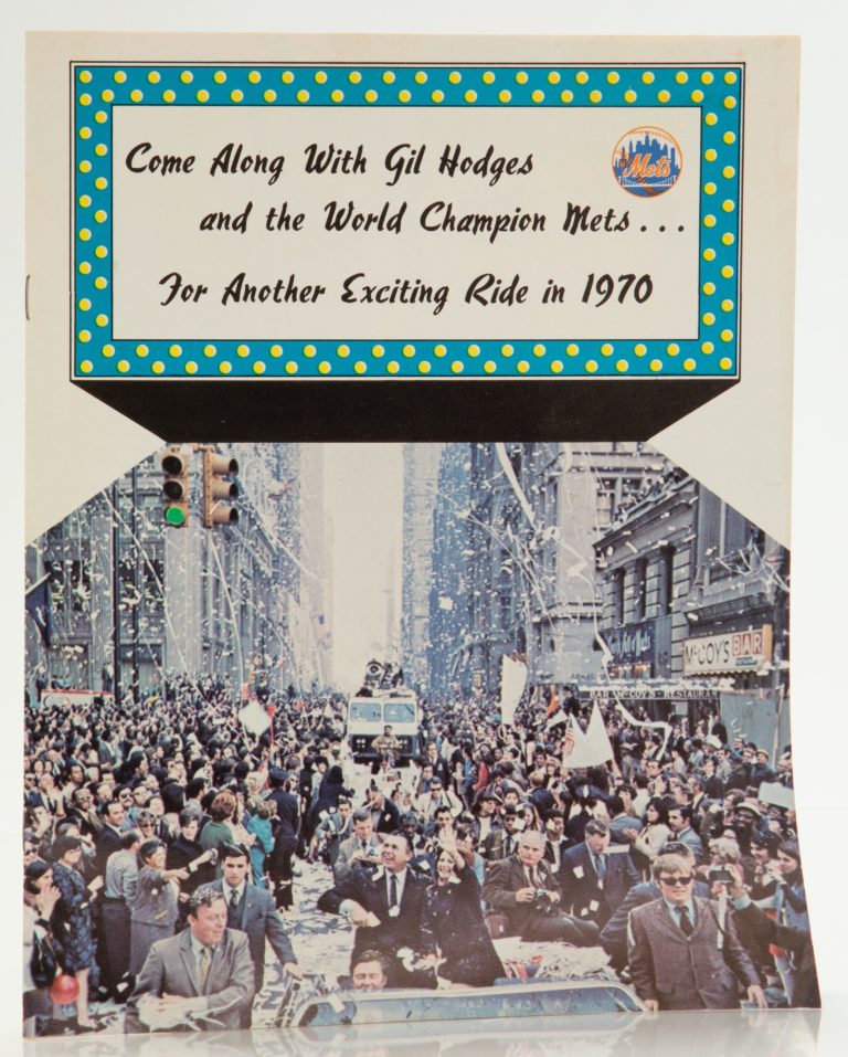 Come Along with Gil Hodges for Another Season Publication from 1970