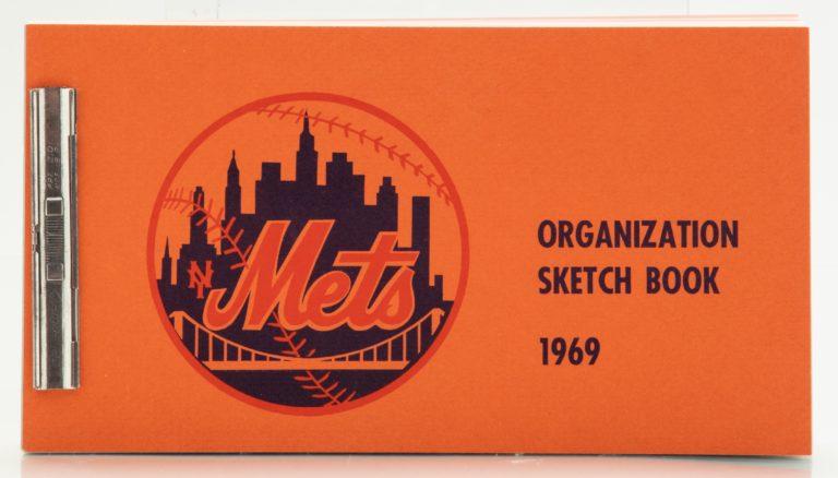 1969 Mets Organization Sketch Book