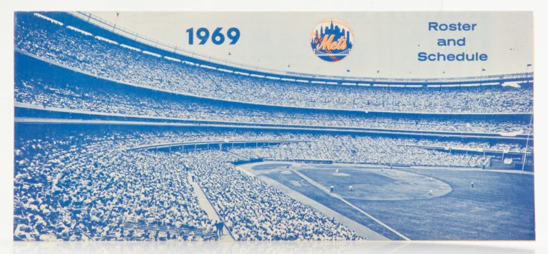 New York Mets 1969 Roster and Schedule