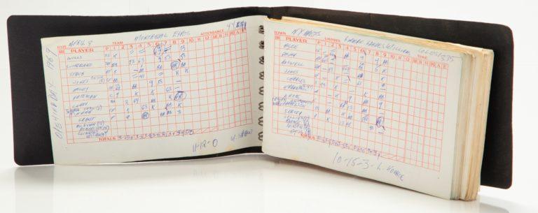 Scorebook: Opening Day of the 1969 Season
