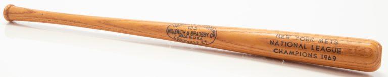 New York Mets NLCS Champions Commemorative Bat
