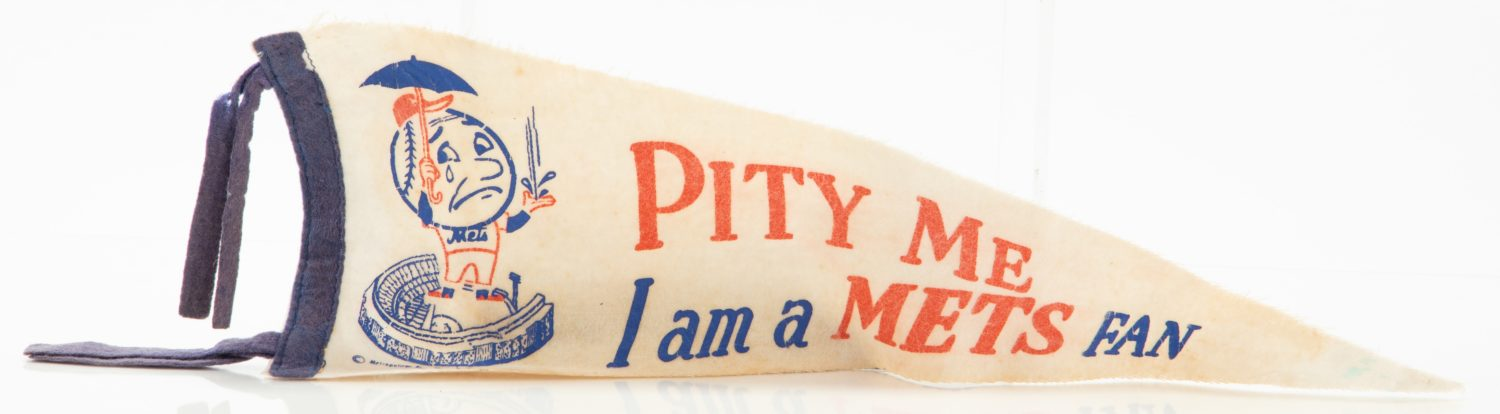 Early 60's New York Mets Pennant